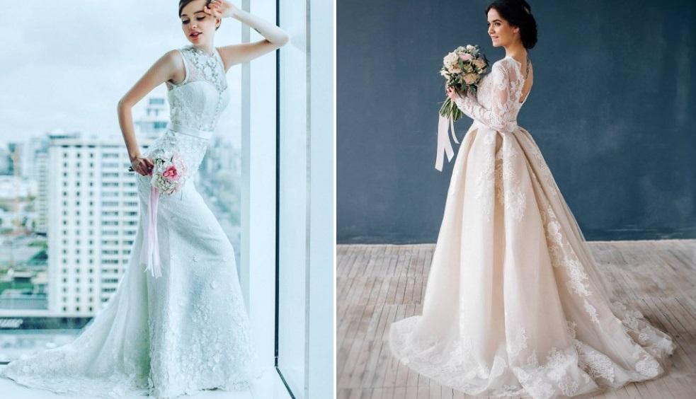 26e406a5f472 Krásne svadobné oblečenie. Fotografie svadobných šiat