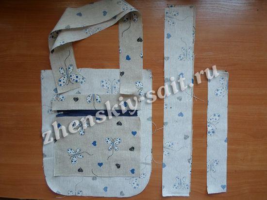 b87e59fdf8a3 Шитые сумки своими руками со схемами. Шьем летнюю сумку своими ...