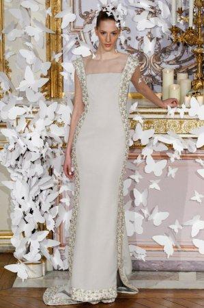 c4196da3370c Moderné svadobné šaty. Hlavné modely svadobných šiat